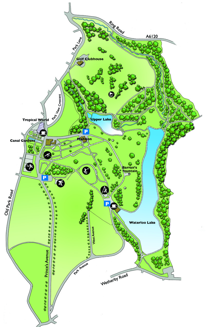 roundhay mapsmall